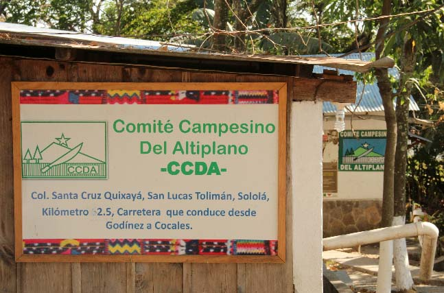 El Comite Campesino del Altiplano supports land rights for indigenous farmers in 11 departments across Guatemala.