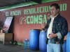 "COMSA General Manager Rodolfo Peñalba explains the innovative work undertaken in their ""Revolutionary Corner of Knowledge."""