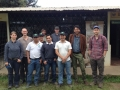 The coop delegation meets with the ACRIM technical team and farmer leaders.