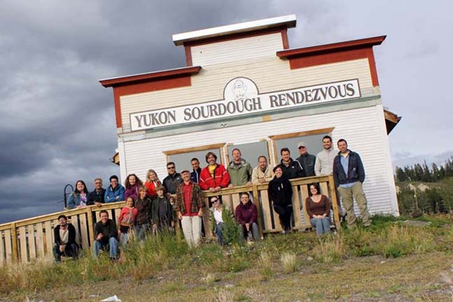 Roaster representatives gather in Whitehorse, Yukon for the 2011 AGM. Face-to-face time to discuss accomplishments and challenges is an important part of being an active member of the cooperative.