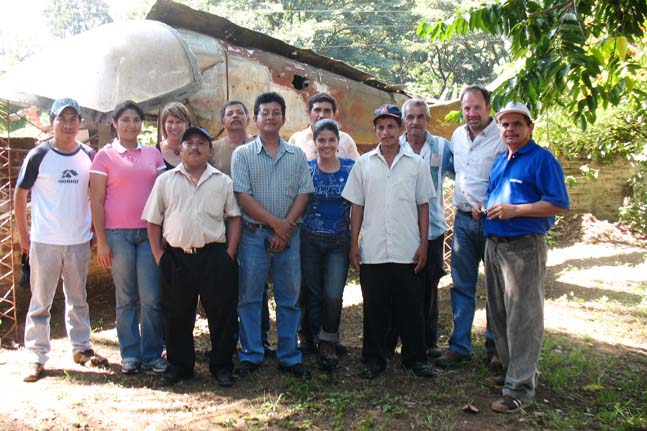 Las Marias 93 meeting with Coop Coffees staff and roaster representatives to better understand production achievements and challenges.