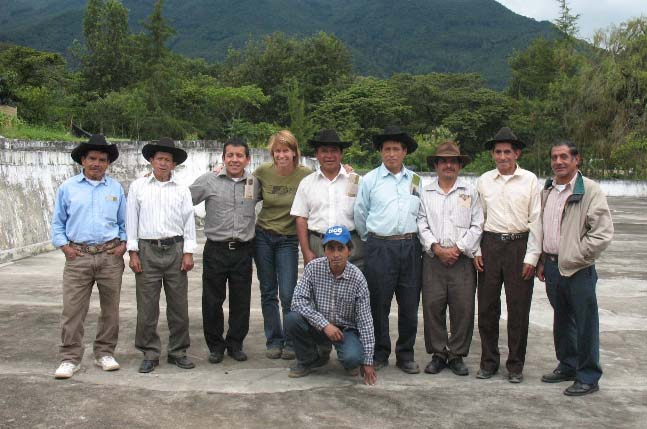 Our commercial partnership with Rio Azul began soon after our first  community visit in 2005.