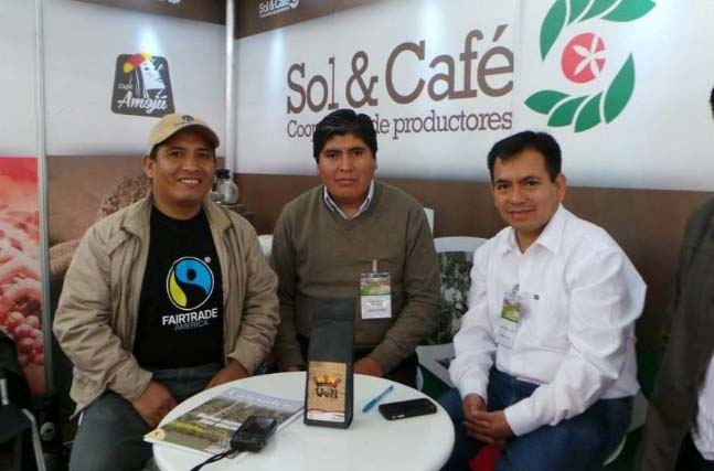 Sol y Cafe leadership is in constant motion, promoting their coffees in quality competitions and trade conferences across North America and Europe.