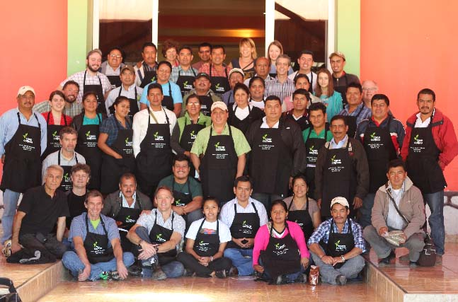 Coop Coffees hosts a learning exchange around intensive organic practices - based on the remarkable experiences in Marcala, Honduras with our partners at COMSA.